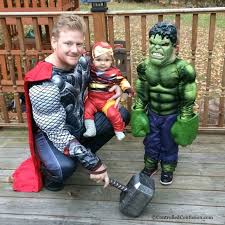 Avengers Halloween Costume Family Halloween Costumes Controlled Confusion