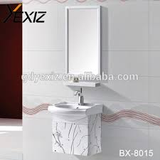 Hanging Bathroom Mirror by Bx 8015 Wall Hanging Vanity Stainless Steel Bathroom Mirror Vanity