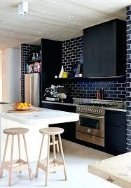 deco cuisine mur deco cuisine noir decoration cuisine mu00e9langez le noir le blanc