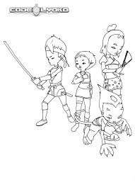 code lyoko warriors awesome skills coloring pages batch coloring