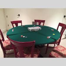 card game table cloth fitted felt poker table cloth elastic edge majhong bridge game