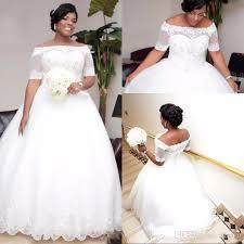 plus size gown wedding dresses plus size white ivory 2018 gown wedding dresses with