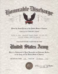 honorable discharge certificate wwi wwii honorable discharge certificate