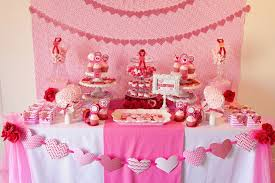 tablecloths decoration ideas decorations pink party table decoration ideas with