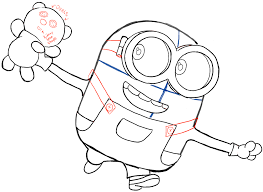 draw bob minion teddy bear minions