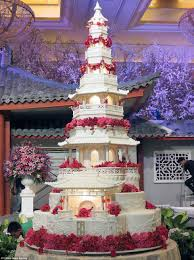 are these the most elaborate wedding cakes of all time daily