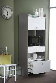 armoire rangement cuisine meuble de rangement de cuisine contemporain coloris blanc basalte