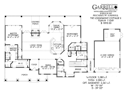 House Plans Software For Mac Free Lodgemont Cottage Ii House Plan House Plans By Garrell