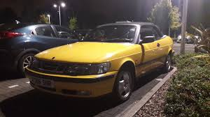 vauxhall yellow saab 9 3 not a thrilling name so good job the car is decent