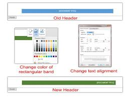 header templates for word creating customized headers in microsoft word 2013