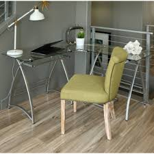 White Glass Desks by 70 Inch Glass Desk Decorative Desk Decoration