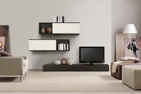 Living Room Simple Contemporary Wall Cabinets Also Tv Unit Plus - Simple modern living room design