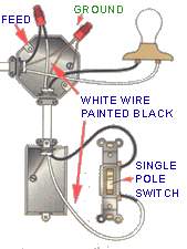 old light switch single pole wiring pictures to pin on pinterest