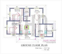 2000 sq ft house plan kerala house plans