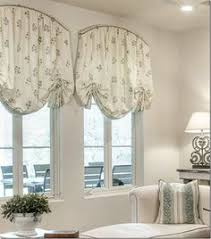 Window Curtain Treatments - solution for the windows beside the front door love the casual