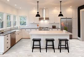white kitchen cabinets with tile floor kitchen remodel design trends for 2020 flooring america