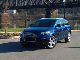 Audi Q7 Blue - by the seat of my pants 2012 audi q7 suv s line cerebral overload
