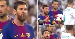 Lionel Messi Halloween Costume Lionel Messi Shouted Sergio Ramos Madrid
