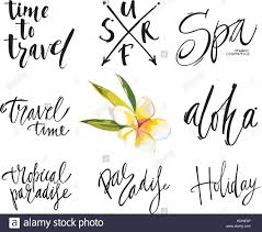 travel phrases images Adventure travel stock vector images alamy jpg