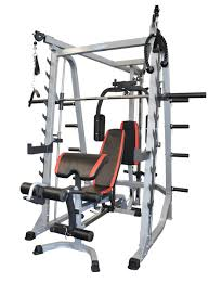home gym smith machine cable cross over fid weight bench for gym