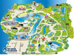 Sea World Map Zoos San Clemente Del Tuyú
