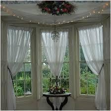 Kitchen Bay Window Curtain Ideas Kitchen Bay Window Treatments Kultur Arb