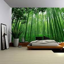 green wall decor bamboo wall decor amazon com