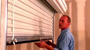 Roll Up Window Shades Home Depot by Roll Up Doors Direct Model 650 Roll Up Door Youtube
