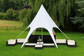 champagne bar set up for your event includes 8m star shade 2