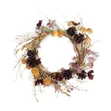 make this winter garden inspired christmas wreath by abigail ahern