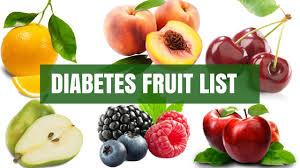 diabetes diabetes fruit list part 1 diabetes tips youtube