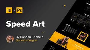 homepage designer web design speed 2 homepage elementor photoshop