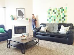 Living Room Reveal Decorating A Habitat For Humanity Home With GMC - Habitat home decor