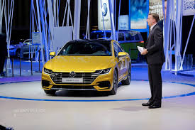 volkswagen arteon is a gorgeous five door coupe in geneva call it