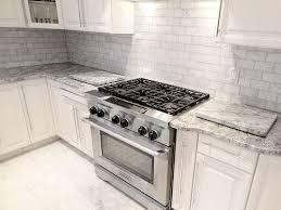 kitchen backsplash ideas for white cabinets white marble tile backsplash amusing kitchen ideas 63 furniture