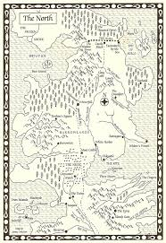 Ice And Fire Map Strange Horizons Written In Maps By Cécile Cristofari