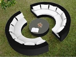 divanetti rattan arredamento esterno divani in rattan set divano rattan giardino
