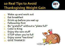 how to stay on track during thanksgiving week motivation