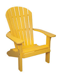 Yellow Plastic Adirondack Chair Backyard Billy U0027s Poly Wood Chairs Plastic Furniture Baltimore Md