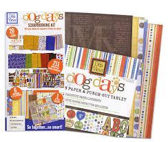 Dog Scrapbook Album Deja Views C Thru Dog Days Collection Scrapbooking Kit