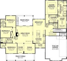 Farm House Plan 843 Best House Plans Images On Pinterest House Floor Plans