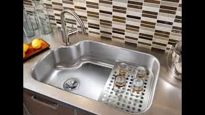 Small Kitchen Sinks by Kitchen Sink Faucets Lowes Youtube