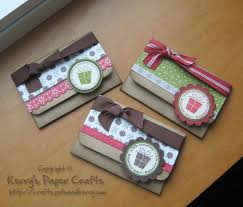 make gift cards this is a idea for using up some of my many ribbon scraps