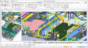 features of the new version of 3d cad wiring and harness solution