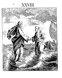 did jesus walk on water the biology files