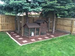 Build Backyard Chicken Coop by Urban Farming Chicken Coop Pine Tree Trim Stepping Stone Garden