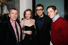 moss and elisabeth moss and fred armisen photos photos barneys new york