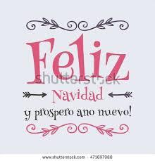 feliz navidad christmas card vector merry christmas card template greetings stock vector
