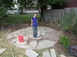 Patio Flagstone Prices Diy Flagstone Patio Good Tips For Laying Crusher And Sand