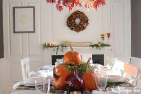 Simple Thanksgiving Table Settings Fall Tablescape For Thanksgiving Lehman Lane